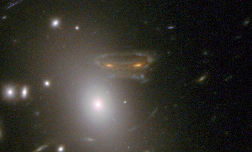 kosmita sfotografowany przez NASA