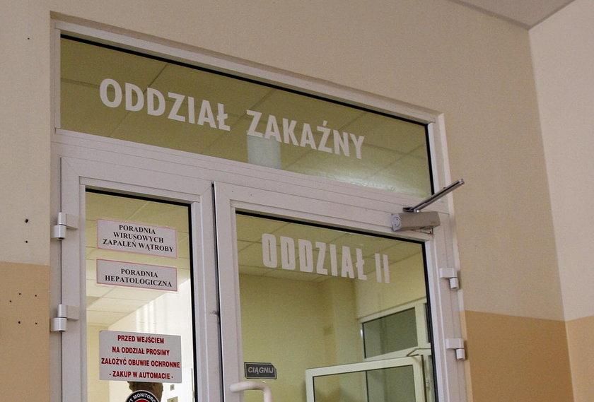 Oddział zakaźny szpitala przy ul. Koszarowej we Wrocławiu