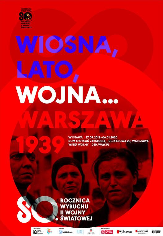 Plakat Warszawa. Niech Trwa