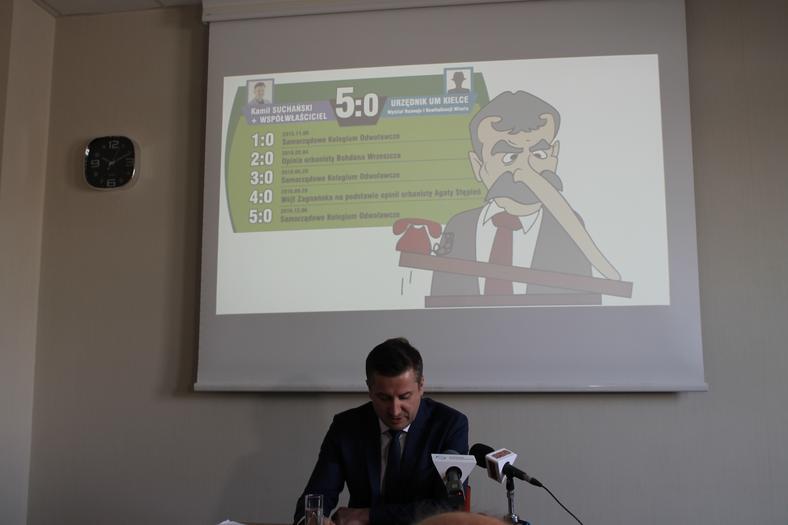 Konferencja Kamila Suchańskiego