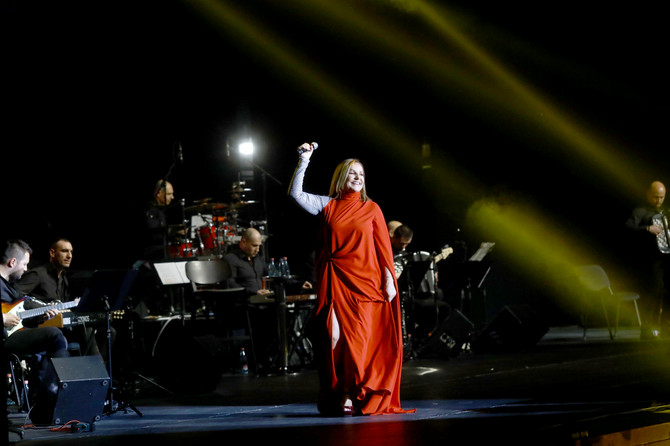 Ana Bekuta na koncertu