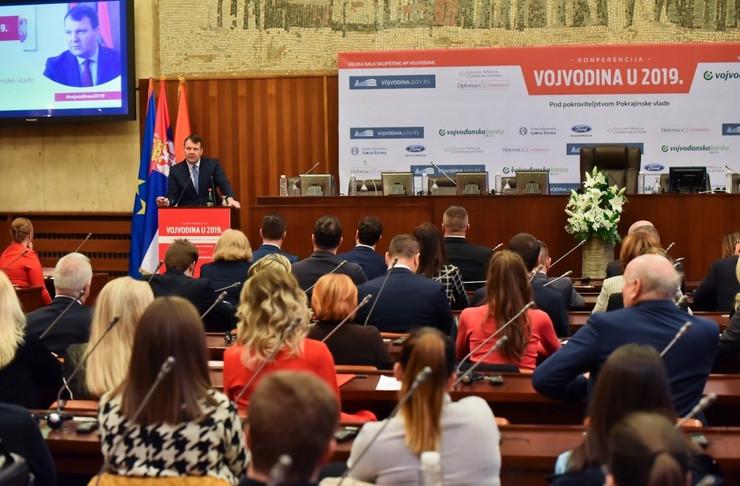 Igor Mirović otvorio konferenciju Vojvodina u 2019 Promo