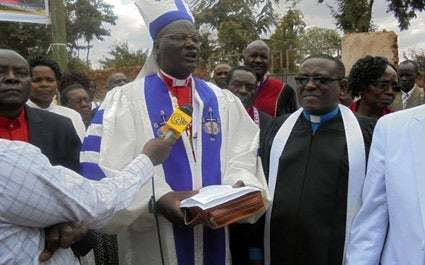 Redeemed Gospel Church Archbishop Arthur Kitonga