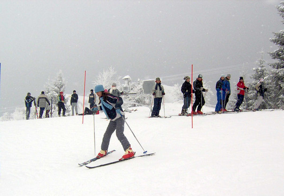 Skijanje na Goliji