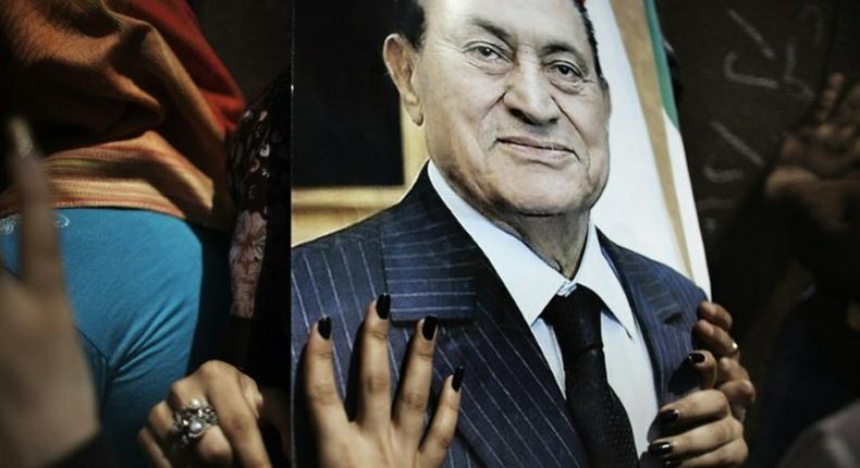 Hosni Mubarak ruled Egypt for three decades until 2011