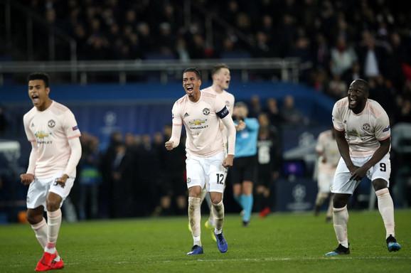 Fudbaleri Mančestera slave neverovatnu pobedu u Parizu