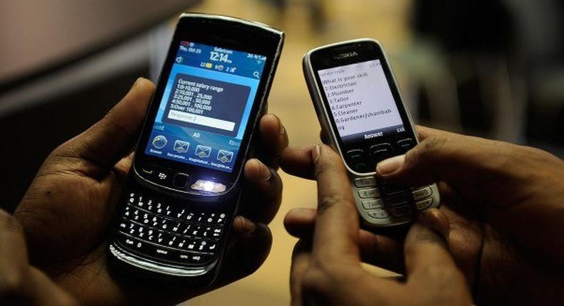 Nigeria's mobile internet users