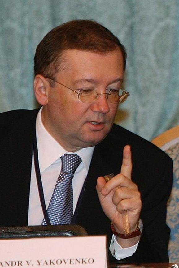 Aleksandar Jakovenko, ruski ambasador u Velikoj Britaniji