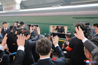 Co się dzieje z koreańskim dyktatorem? Pociąg Kim Dzong Una widziany na zdjęciach satelitarnych