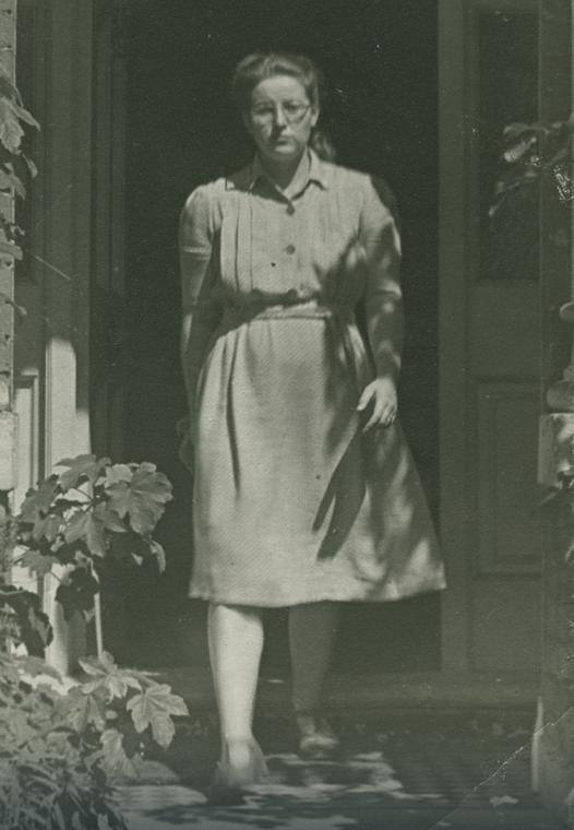 Magda Rusinek na zdjęciu z 1948 roku.