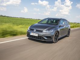 Volkswagen Golf R Variant – waRiant wyścigowy
