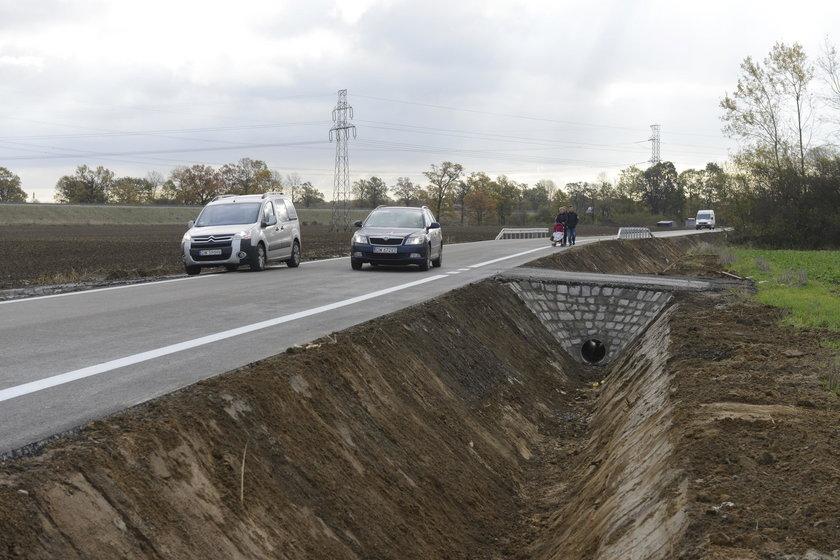 Droga Blizanowice-Trestno jest już otwarta