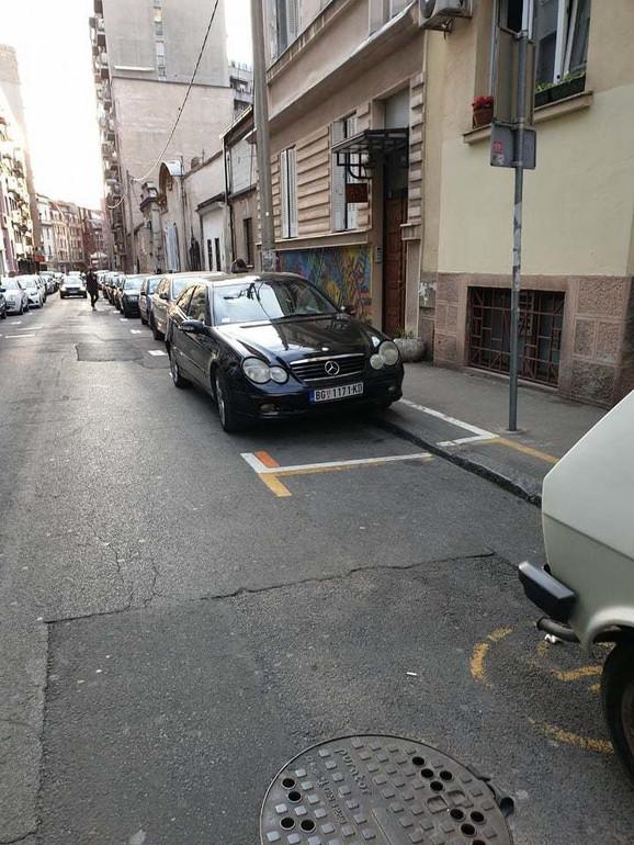 Parking mesto zbog koga je Goran pretučen