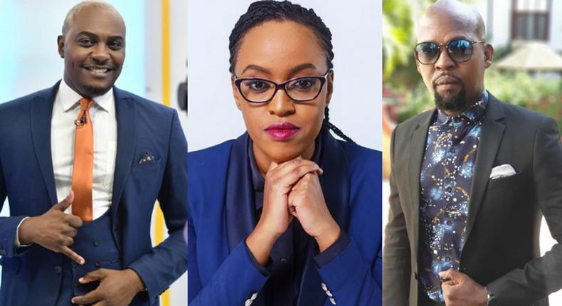 Eric Njoka, Asha Mwilu and Alex Mwakideu