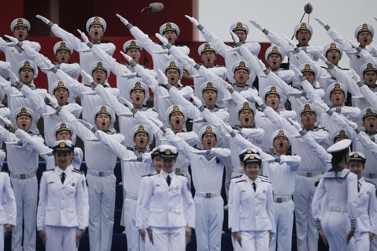 kineska mornarica parada