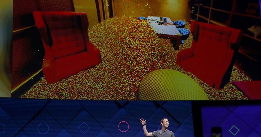 Rozszerzona rzeczywistość Facebooka pozwoli wypełnić pokój wirtualnymi drażami