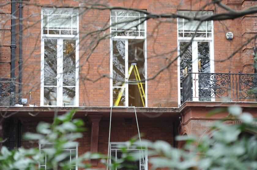 Remontowany apartamentowiec, gdzie doszło do tragedii