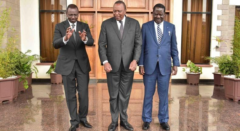 Uhuru, Raila, and Ruto to meet today at launch of Mama Ngina water front project