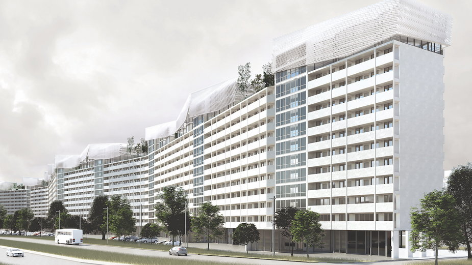 Mieszkania na dachu gdańskiego Falowca. Praca dyplomowa studentki ASP w Gdańsku!