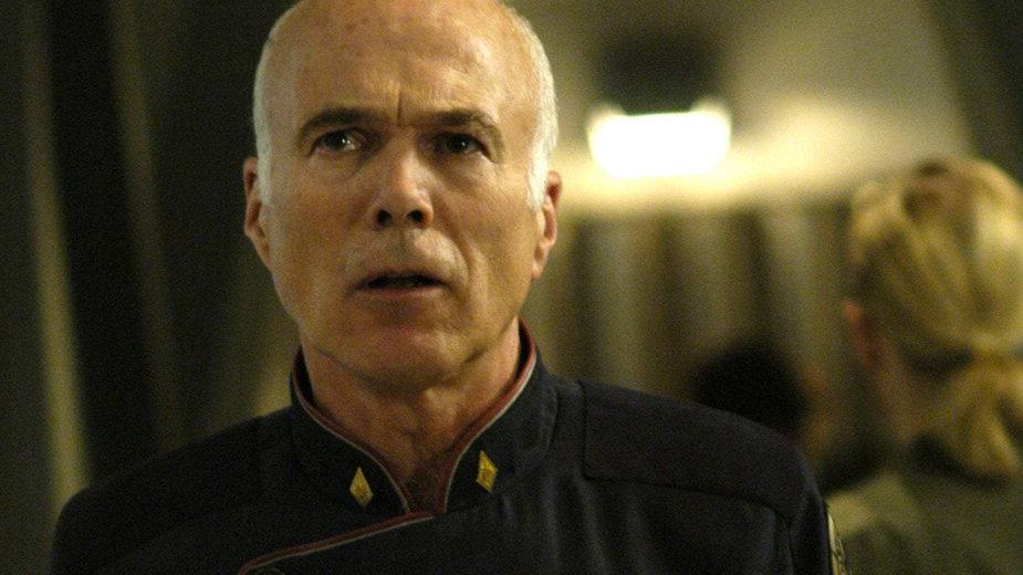 "Michael Hogan w serialu ""Battlestar Galactica"""