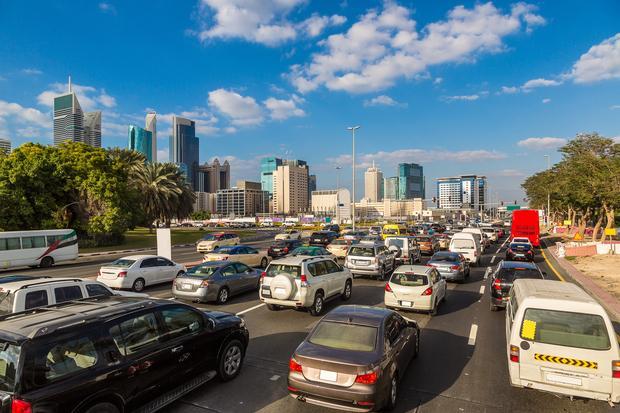 Ulica, Dubaj