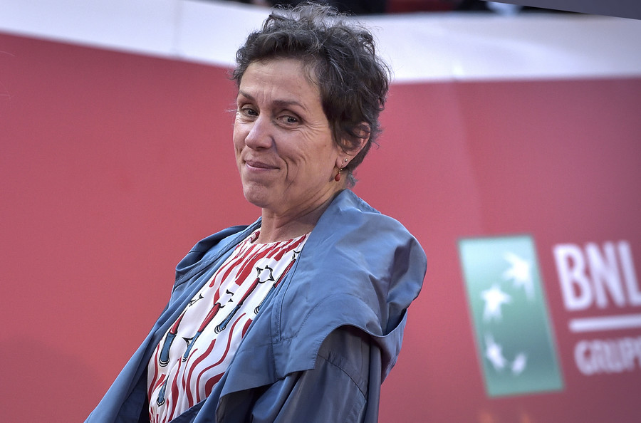 Złote Globy 2021 / Frances McDormand / GettyImages
