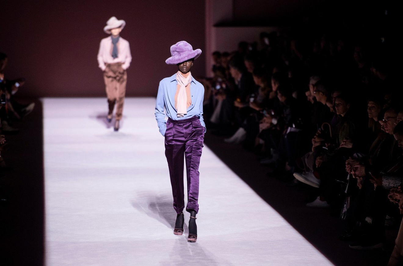Revija Toma Forda na Nedelji mode u Njujorku
