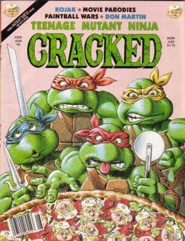 Nindža kornjače, strip