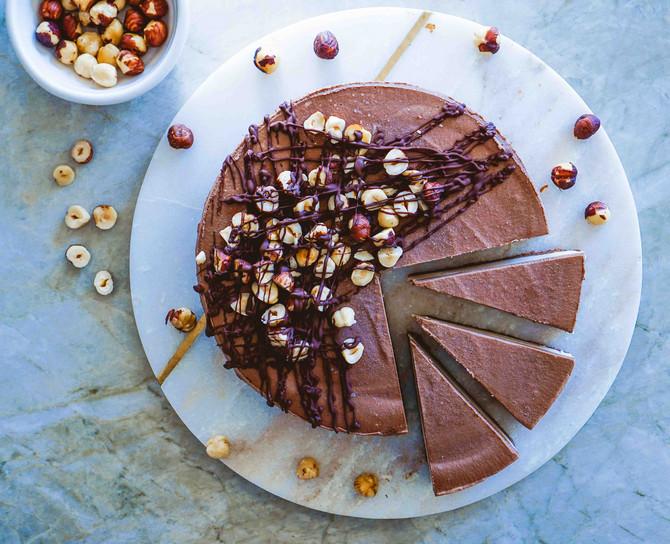 Čoko torta sa lešnicima