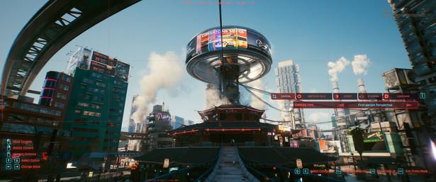 Cyberpunk 2077 - zdjęcia z trybu foto z gry
