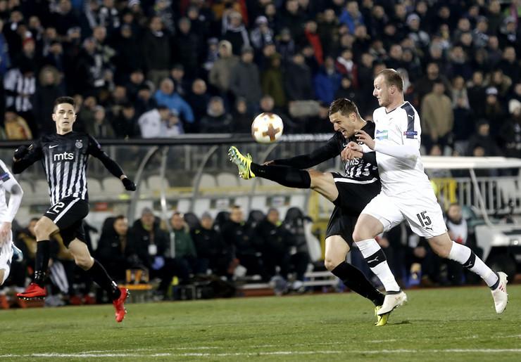 FK Partizan, FK Viktorija Plzenj