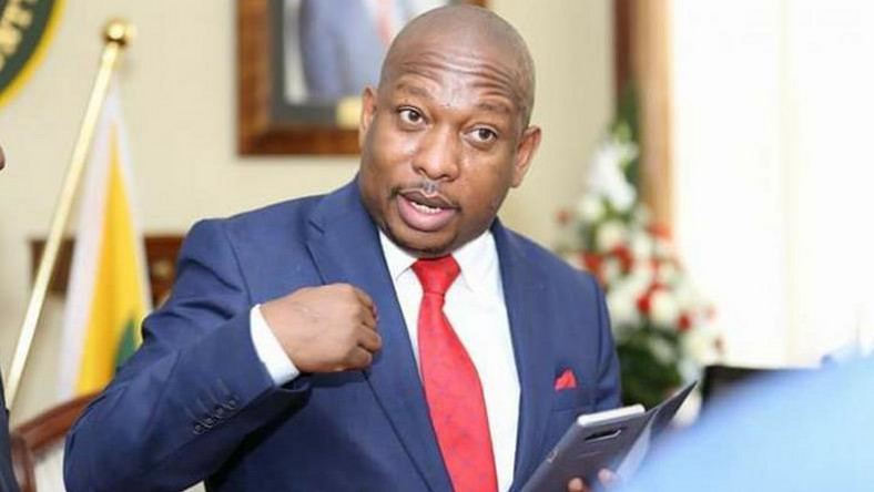 """My private parts have been electrocuted while peeing at JKIA"" Sonko cries out"