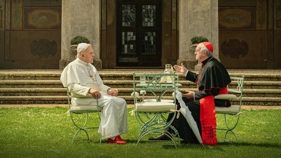 """""""Dwóch papieży"""": kadr z serialu"""