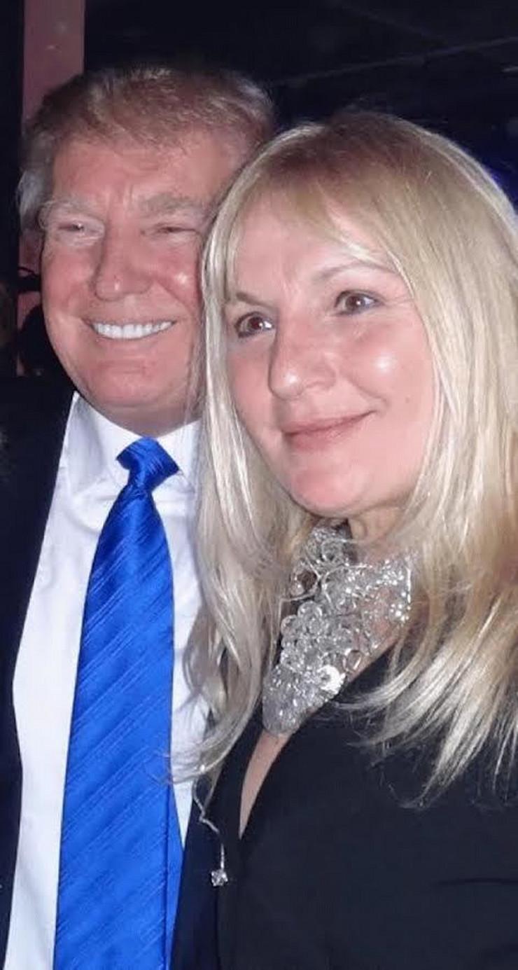 Vesna de Vinča i Donald Tramp