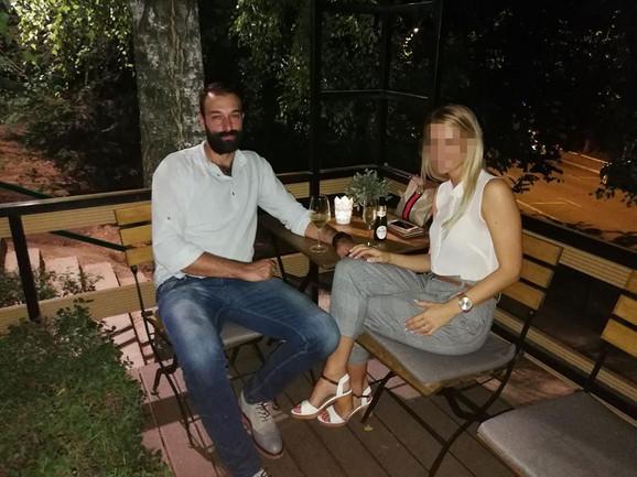Filip Gavranović sa suprugom