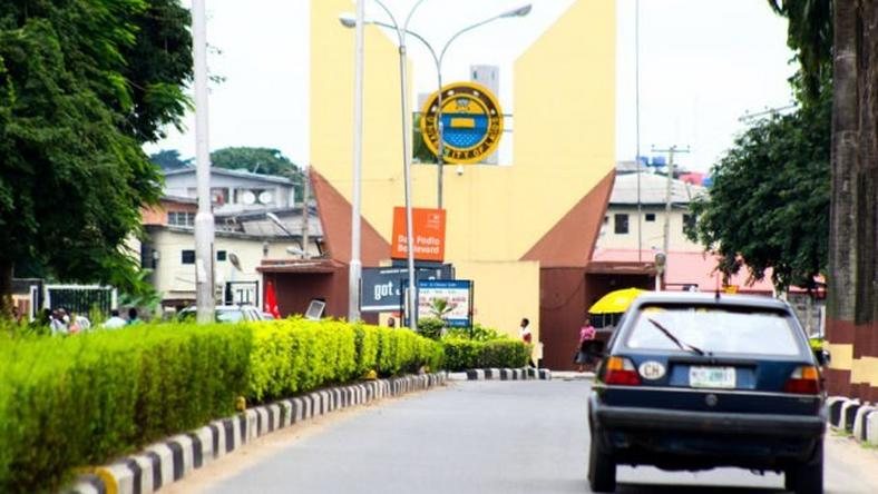 Main Entrance, University of Lagos (UNILAG). Photo: Pulse.ng