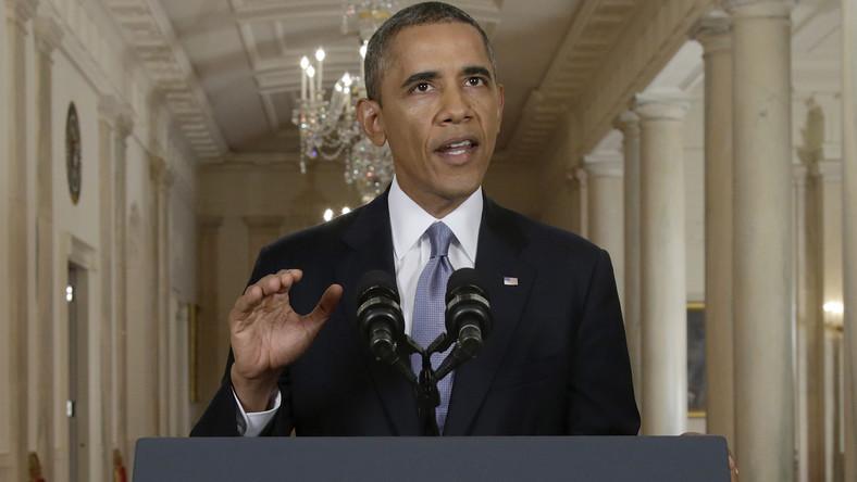 Barack Obama wyciąga rękę w stronę Iranu.