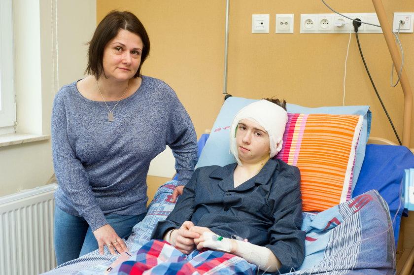 Pacjent z mamą