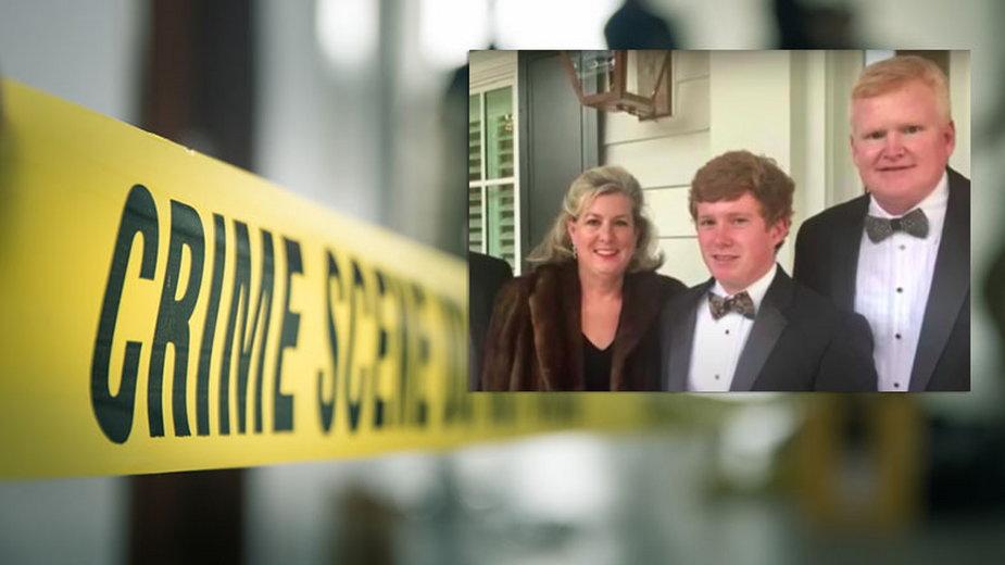 Sprawa morderstwa żony i syna Alexa Murdaugha wciąż nie jest wyjaśniona (screen: YouTube.com/Today)