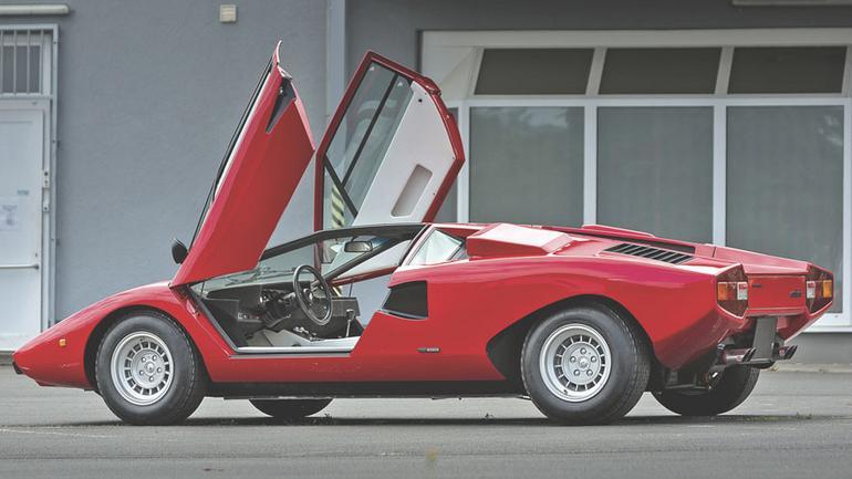 Lamborghini Countach LP400 - marzenie z plakatu