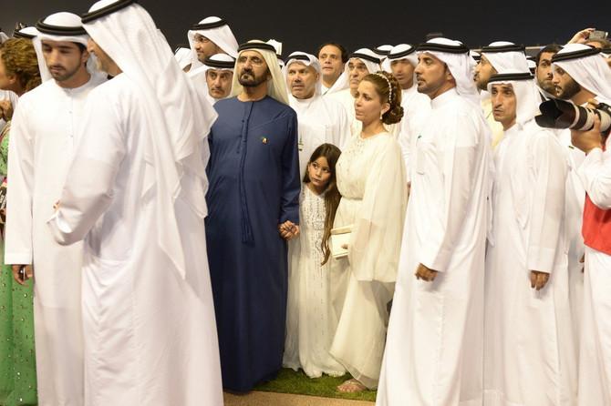 Princeza Haja sa šeikom i ćerkom