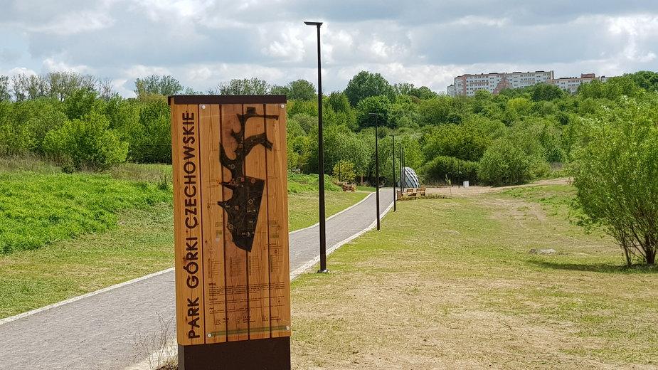 Park Górki Czechowskie