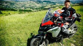 Casey Stoner testował Ducati Multistradę 1200 Enduro [wideo]