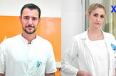 mladi lekari, Vladimir Milutinović i Sara Kajiš, foto promo