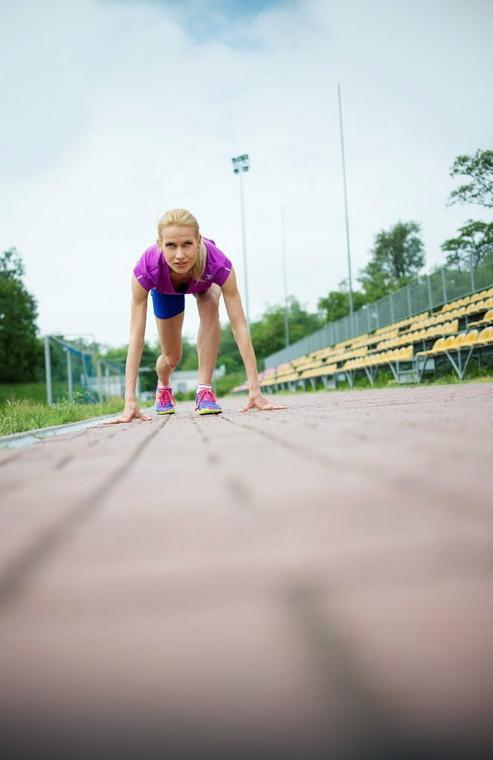 Bieganie to skupienie na oddechu, miarowych ruchach i pokonywaniu słabości, fot. Arleta Magda