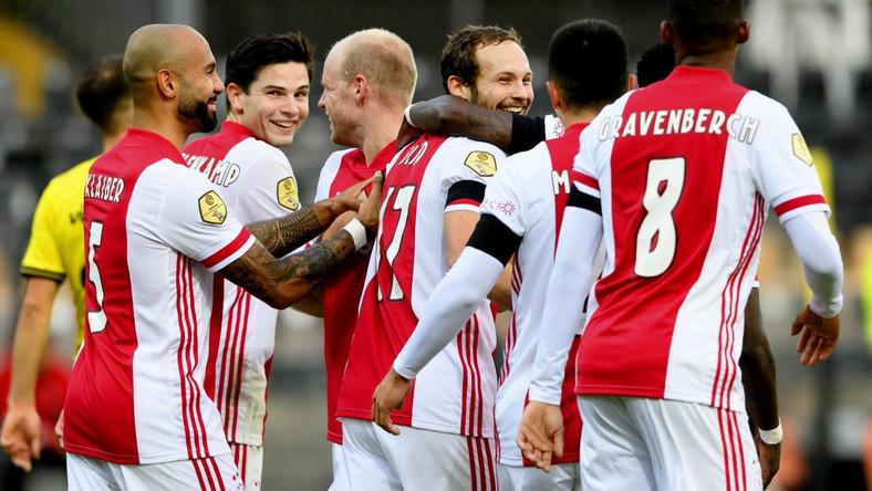 Piłkarze Ajaxu mieli powody do radości