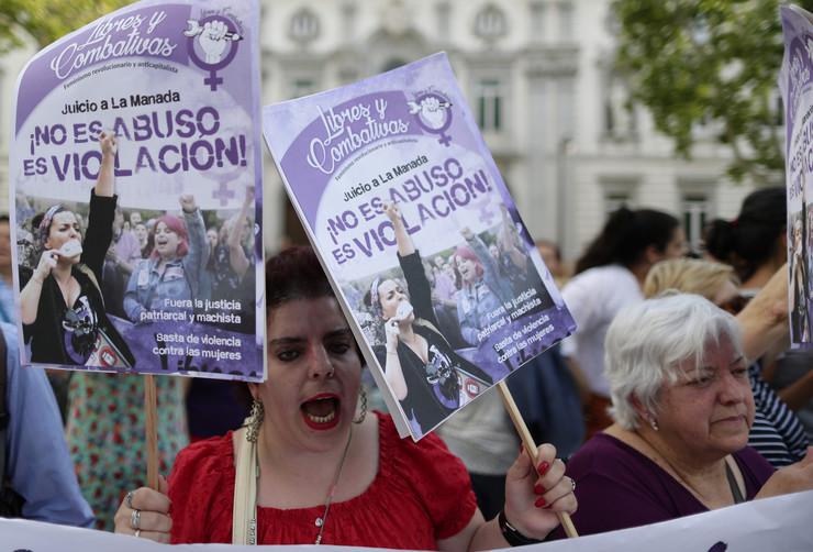 Španija protest silovanje