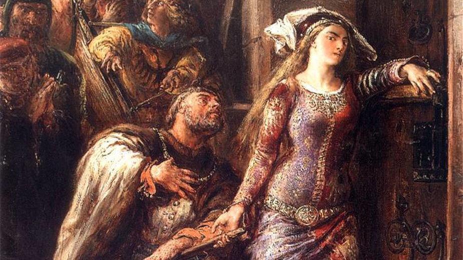 Dymitr z Goraja powstrzymujący Jadwigę