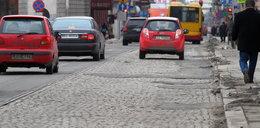 Ulica Tuwima do remontu