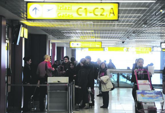 Kontrola letenja Srbije i Crne Gore zaradile su neznatno manje od Hrvatske